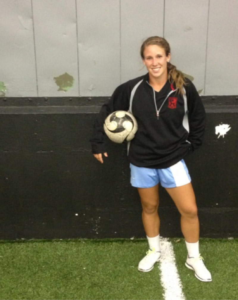 Next Level Training athlete Mallory Weber drafted by NWSL Western New York Flash