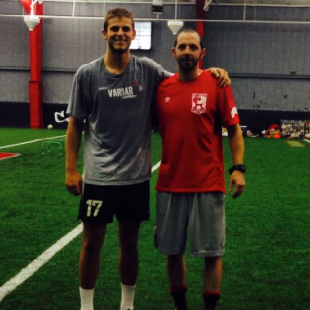 Next Level Training athlete Zach Carrol drafted by MLS New York Red Bulls